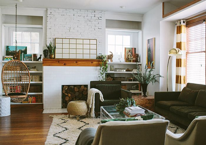 Inside A Century Old Contemporary Colonial