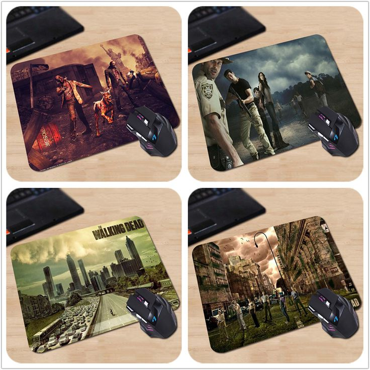 Best Quality Zombie Apocalypse Walking Dead  Awesome Customized Mouse Pad Computer Notebook Durable Non-slip Mouse Mat