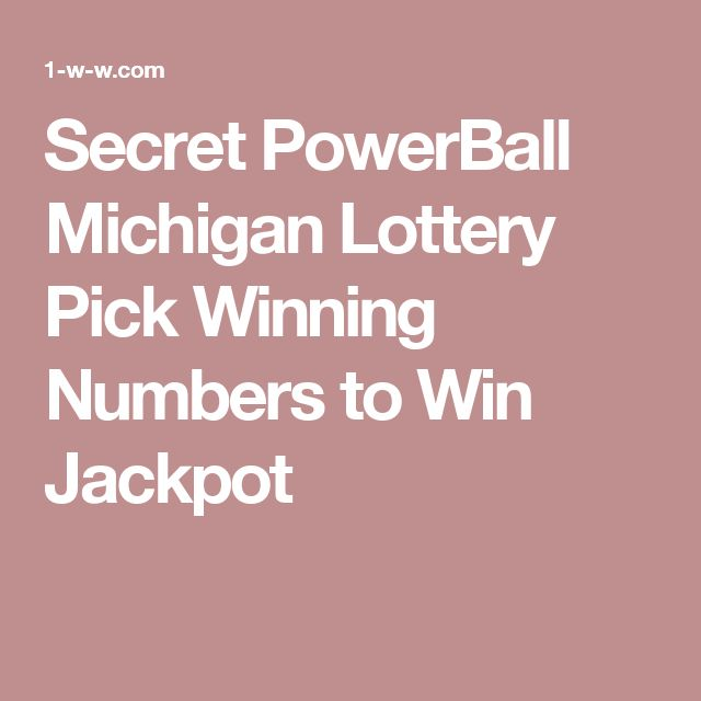 Michigan keno secrets
