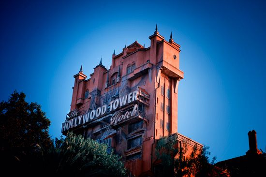 """At 199 feet tall, """"The Twilight Zone Tower of Terror"""" is the highest attraction at the Walt Disney World Resort."""