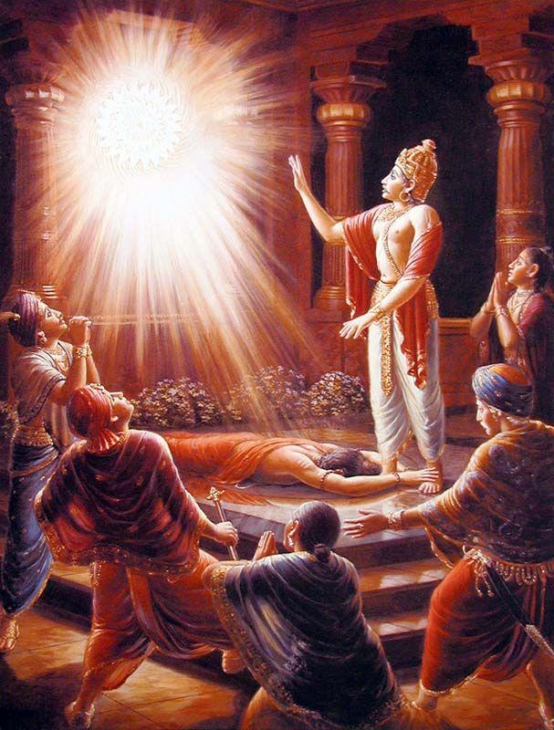 Sudarshana chakra.king ambareesha