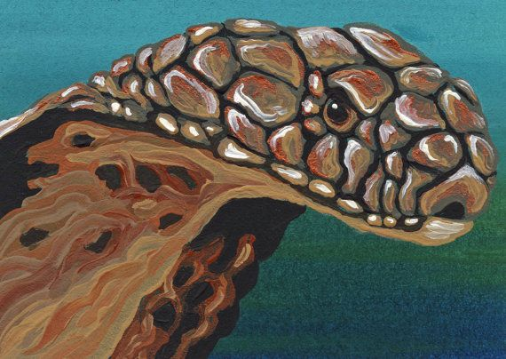 ACEO King Cobra Snake Original Painting by carlascreatures ...