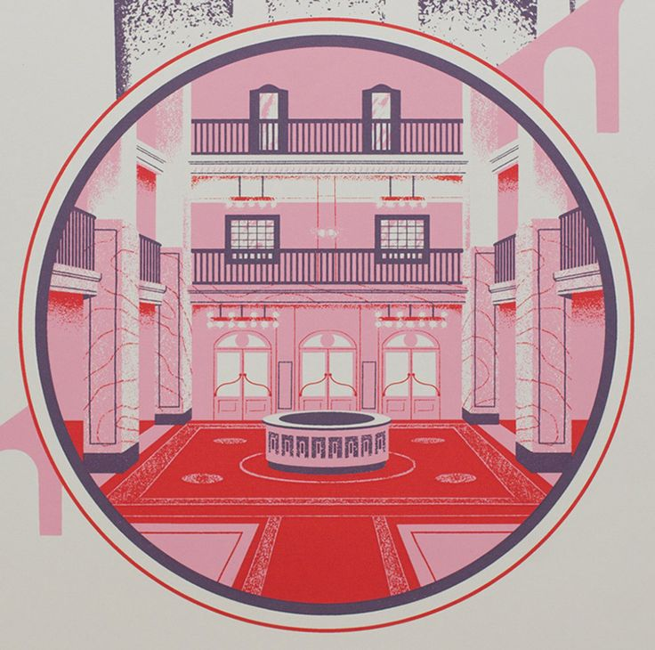 The Grand Budapest Hotel Print