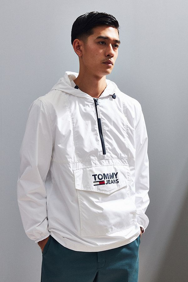 b0bf0b77 Tommy Jeans Popover Anorak Jacket | Clothes | Anorak jacket, Jackets ...