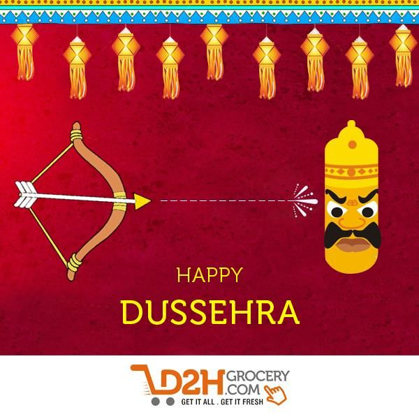Celebrate the victory of good over evil. #HappyDussehera #feelfestive