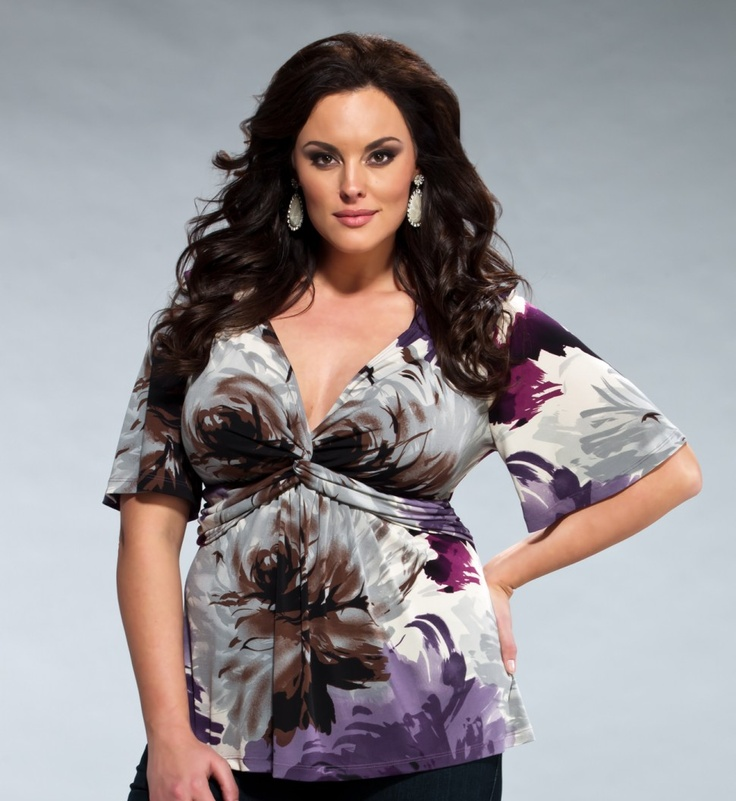 plus size top $60 i dont know if i could pull off how low this shirt goes but i like it