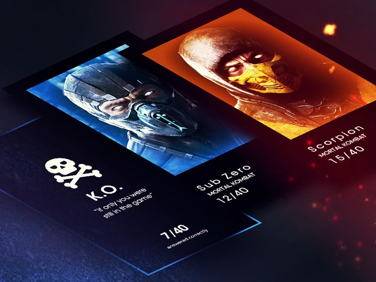 Mortal Kombat Trivia App by Igor Ivankovic
