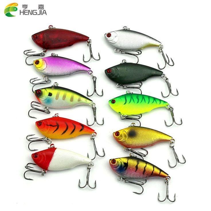 $8.18 (Buy here: https://alitems.com/g/1e8d114494ebda23ff8b16525dc3e8/?i=5&ulp=https%3A%2F%2Fwww.aliexpress.com%2Fitem%2FHENGJIA-10pcs-6CM-10-6G-game-vibe-fishing-lures-hard-bait-Metal-ball-inside-fish-ice%2F32729577955.html ) HENGJIA 10pcs 6CM-10.6G game vibe fishing lures hard bait Metal ball inside fish ice sea fishing tackle swivel jig wobbler lure for just $8.18