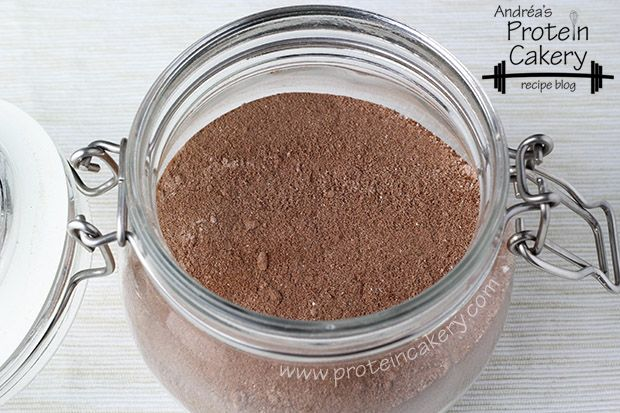 Protein Hot Cocoa Mix - Andréa's Protein Cakery high protein recipes - DIY hot cocoa