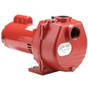 Red Lion 71 GPM 1-1/2 HP Self-Priming Cast Iron Sprinkler Pump. This cast iron pump is designed for years of service and reliability. Sprinkler pumps are designed for proper lawn and garden saturation when you have an alternative water source.    This 1-1/2HP model is self priming, which means you only need to prime it once! This means less time to get going after the initial set up.