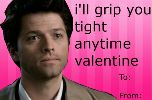 supernatural valentine card tumblr