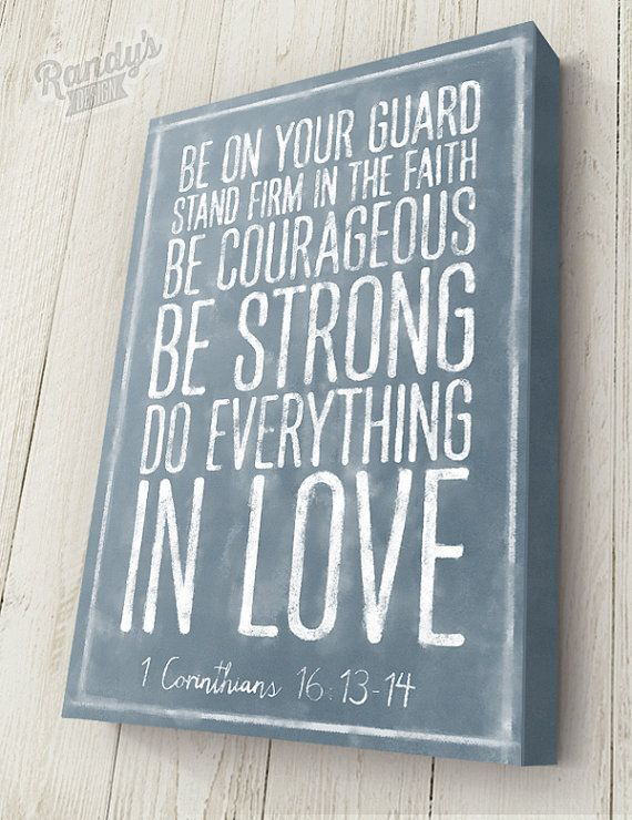 WANT THIS. Customized Bible Verse Traditional Canvas Wrap on by RandysDesign, $69.00