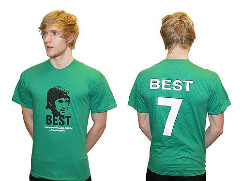 Best Quote Green Cotton T Shirt