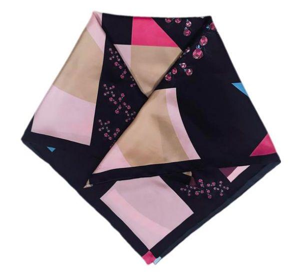 Silk Square Scarf - Palisades Pink by VIDA VIDA xUQjT