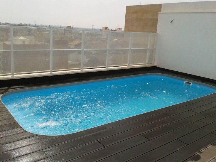 As 25 melhores ideias de piscinas prefabricadas no - Piscinas pequenas prefabricadas ...