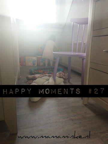 Weer een nieuwe happy moments. Deze week stond wel in het teken van opruimen en andere huishoudelijke klusjes. Kijk je mee naar wat wij deden?