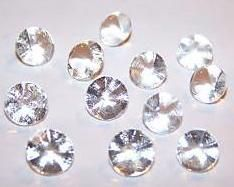 edible sugar diamonds