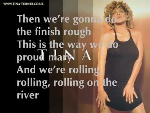 ↑PROUD MARY | TINA TURNER | FLASHING LYRICS - YouTube