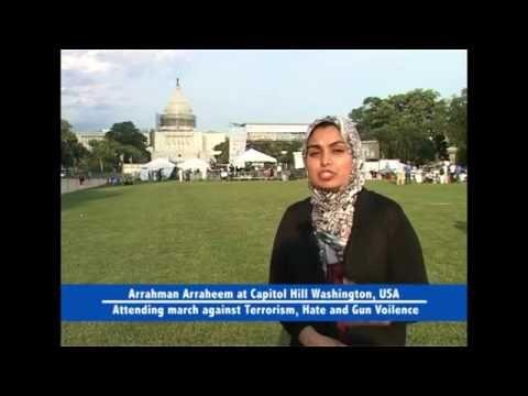 American Muslim March against TerrorismAmerican Muslim March against #Terrorism, #Hate and #Gun #Violence #ARAR #Islam #Peace #UniversalBrotherhood #Quran Hate and Gun Violence