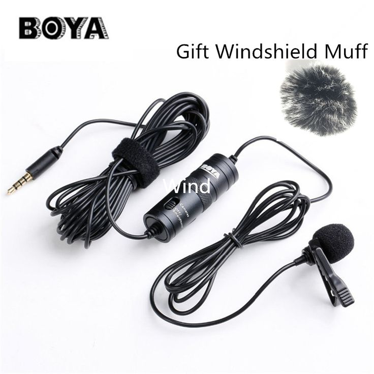 >> Click to Buy << BOYA BY-M1 Omnidirectional Camera Lavalier Condenser Broadcast Microphone Professional for DSLR Camcorder iPhone 7 6 6s Recorder #Affiliate