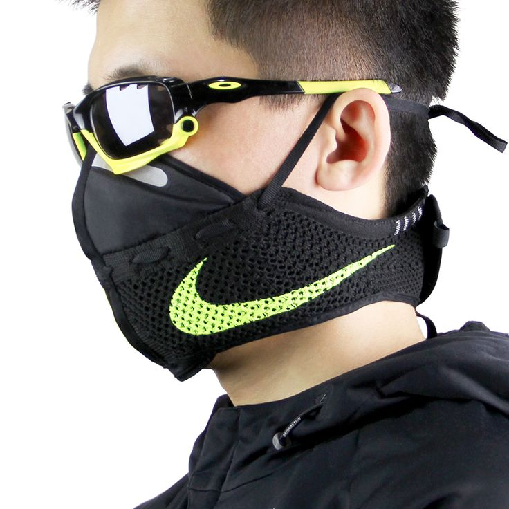 Zhijun Wang takes on the city air pollution that runners face on a daily basis feet first with the Nike Flyknit Mask. Reconstructing the Flyknit Racer silo, this mask makes a statement in functional fashion. Flyknit panels wrap around the face and neck, tied snugly by laces behind the ears. Check out start to finish …