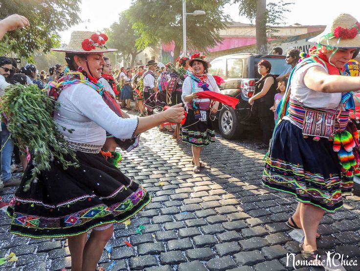 The Challa Carnival and the Party of the 'Roto Chileno' (La Fiesta del Roto Chileno y el Carnaval de la Challa) It is not too much what people get to
