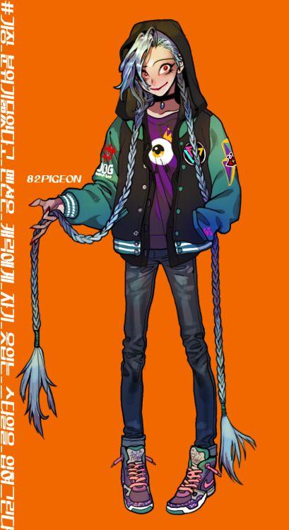 pigeon666:  Jinx in my fashion style.