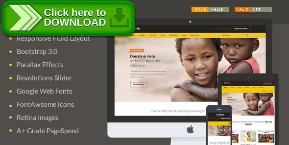 [ThemeForest]Free nulled download Charity - Nonprofit/NGO/Fundraising HTML Template from http://zippyfile.download/f.php?id=6036 Tags: Causes, charitable trust templates, charity template, Charity Templates, Charity Web Templates, charity website template, charity websites templates, donation, donation website template, fundraising website template, ngo website template, non profit website template, non profit website templates, nonprofit website templates