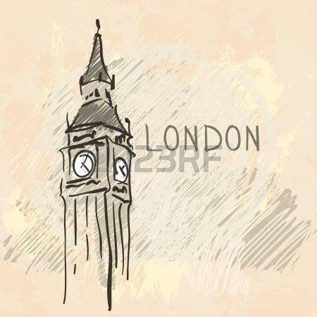 Всемирно известной серии ориентир: Биг Бен, Лондон, Англия photo