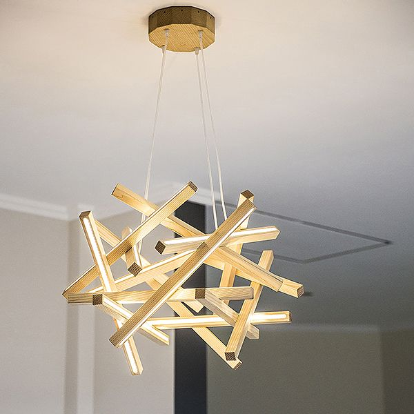 Wooden Chandelier Perfect Way To Add Atmosphere Lighting Into Your Dwelling And It Also The Beautiful Natural De Chandelier Modern Chandelier Wooden Chandelier