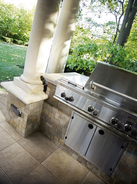 Just grillin'...  Featuring Crossville's Modern Mythology