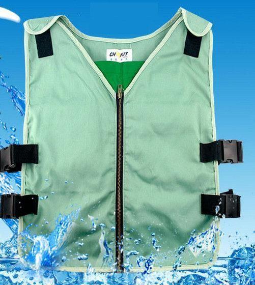 Mens Cooling Vest With Ice Bag Vest Ice Bag Men