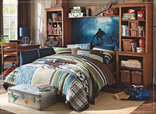 very cool boys room