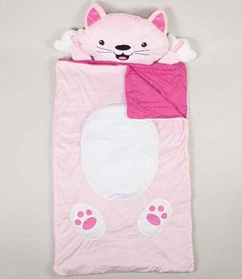 Cat sleeping bag- too cute.