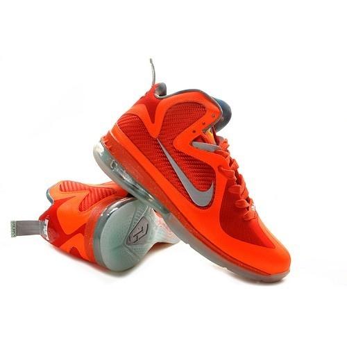 Nike LeBron 9(IX) ASG Galaxy Total Orange-Metallic Silver-Team Orange