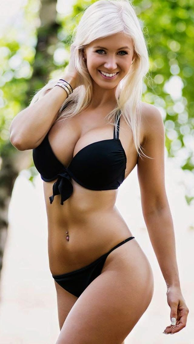 Blonde flashing lingerie nude Katie!!!