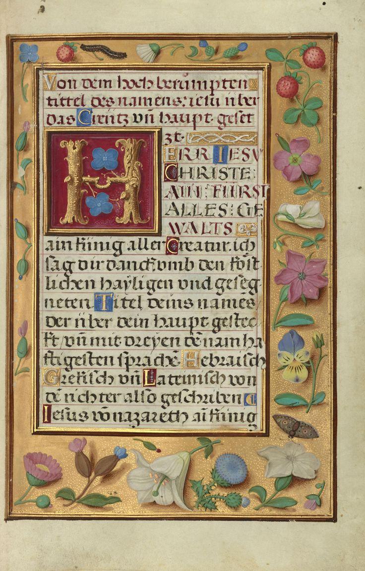 Prayer Book of Cardinal Albrecht of Brandenburg...Simon Bening Bruges, Belgium, Europe; about 1525 - 1530