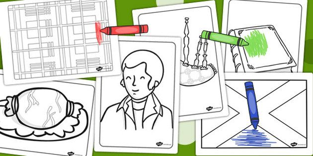 Burns Night Colouring Pages 2015