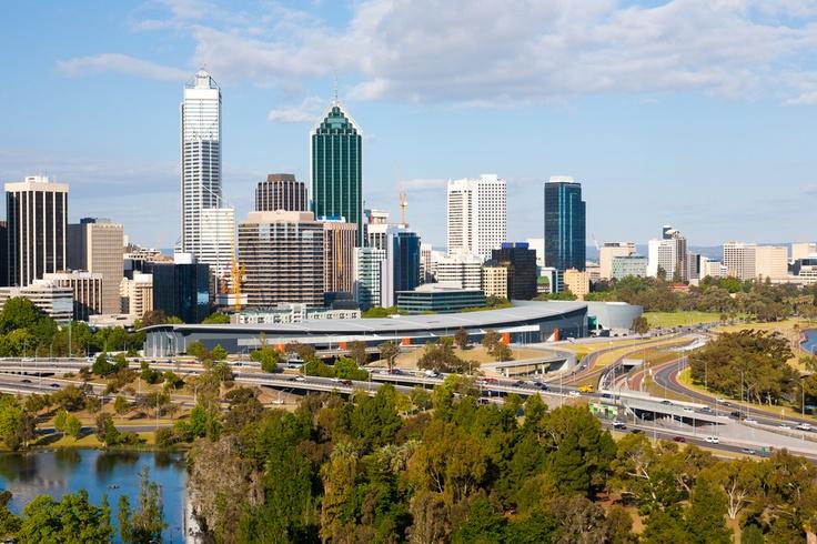 Panorama Perth Avustralya