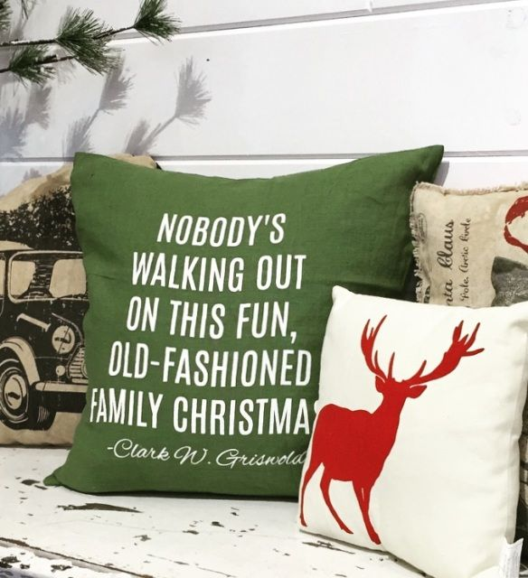 Griswold Christmas Pillow Cover - Plain Jane Home