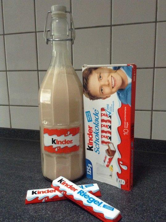 Kinderschokolade-Likör, ein sehr schönes Rezept aus der Kategorie Likör. Bewertungen: 18. Durchschnitt: Ø 3,8.