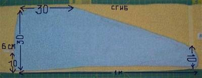 patrón de circuito turbante toalla para la cabeza coser sus propias manos