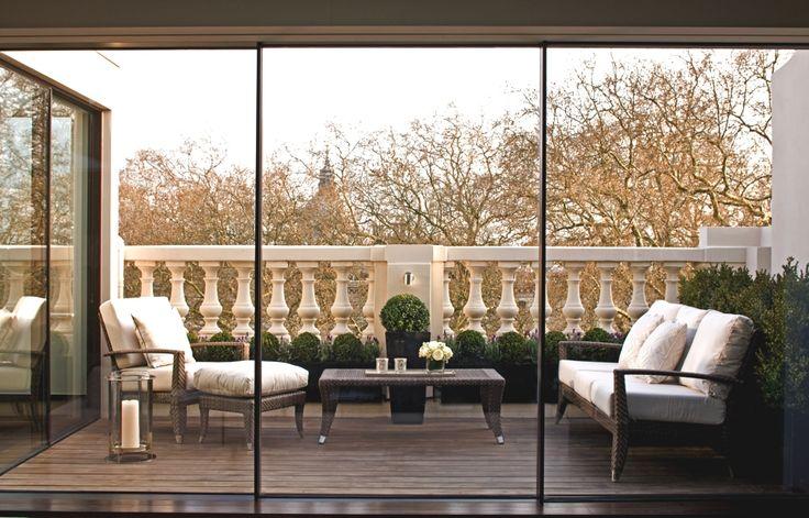 duplex penthouse apartment, London