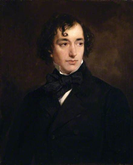 Benjamin Disraeli (1804–1881), Earl of Beaconsfield, PC, FRS, KG, as a Young Man by Francis Grant, 1851