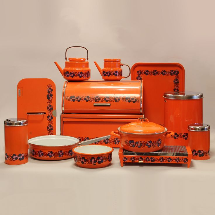 Brabantia tins from the seventies, type Diana