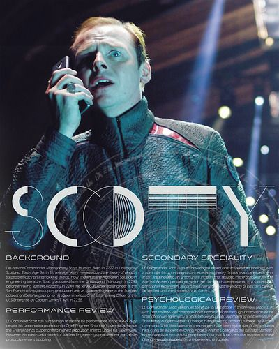 Love Scotty...love Simon Pegg...makes for a whole lot of awesome!