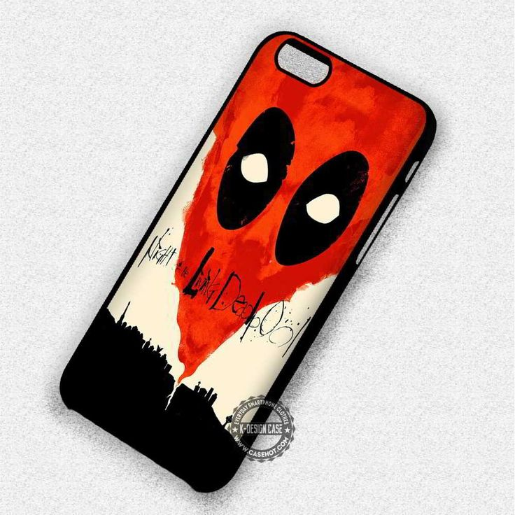 Night Of The Deadpool - iPhone 7 6 5 SE Cases & Covers