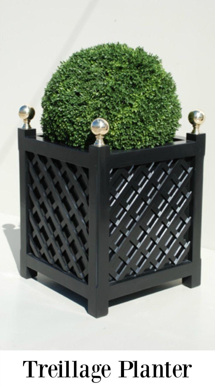 Superb Treillage Planter, A Great Planter Idea For French Style Garden.