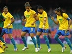 Fabiana, Cristiane, Maurine & Marta in Brazil celebration
