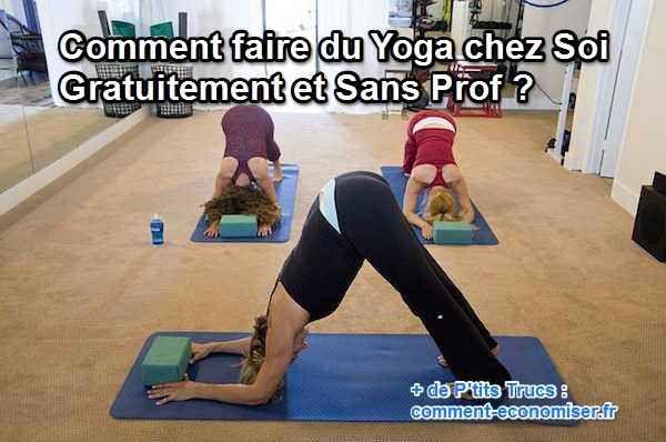 Besoin de vous déstresser, de reprendre le contrôle et d'unir votre corps à votre esprit ? Le yoga est fait pour vous ! Nous avons sélectionné  pour vous des vidéos et applications smartphone pour une pratique régulière.  Découvrez l'astuce ici : http://www.comment-economiser.fr/yoga-chez-soi-gratuit.html?utm_content=bufferf4862&utm_medium=social&utm_source=pinterest.com&utm_campaign=buffer